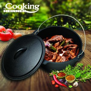CEAUN + CAPAC FONTA PURA, 25 x 10 cm, 3.5 L, COOKING BY HEINNER